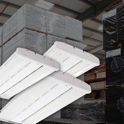 LED Fixture with Integrated Controls Upgrade